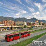 El Transmilenio de Bogotá
