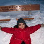 Nieve, invierno en Suiza