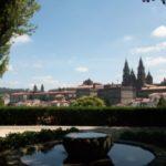 Catedral Santiago de Compostela vista desde la Alameda