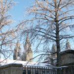 Nieve en Compostela 2010