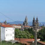 Compostela en la distancia