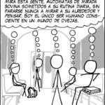Borregos caricatura
