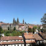Santiago de Compostela desde el parque Alameda Diana Garcés