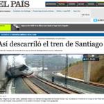 Tren Descarrilado Compostela elpaís.com