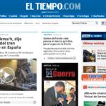 Tren Descarrilado Compostela eltiempo.com