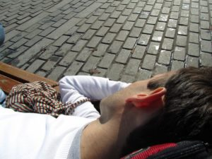 Jaime durmiendo