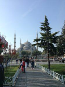 Pasando un día en Istanbul